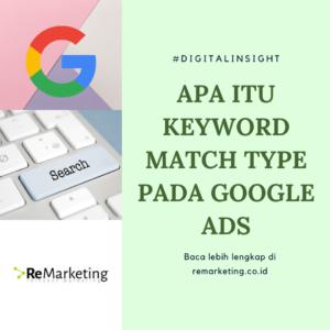 Apa Itu Keyword Match Type pada Google Ads