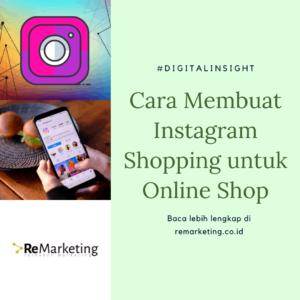 Cara Membuat Instagram Shopping untuk Online Shop