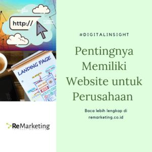 Pentingnya Memiliki Website untuk Perusahaan