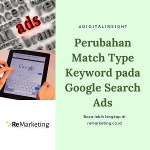 Perubahan Match Type Keyword pada Google Search Ads