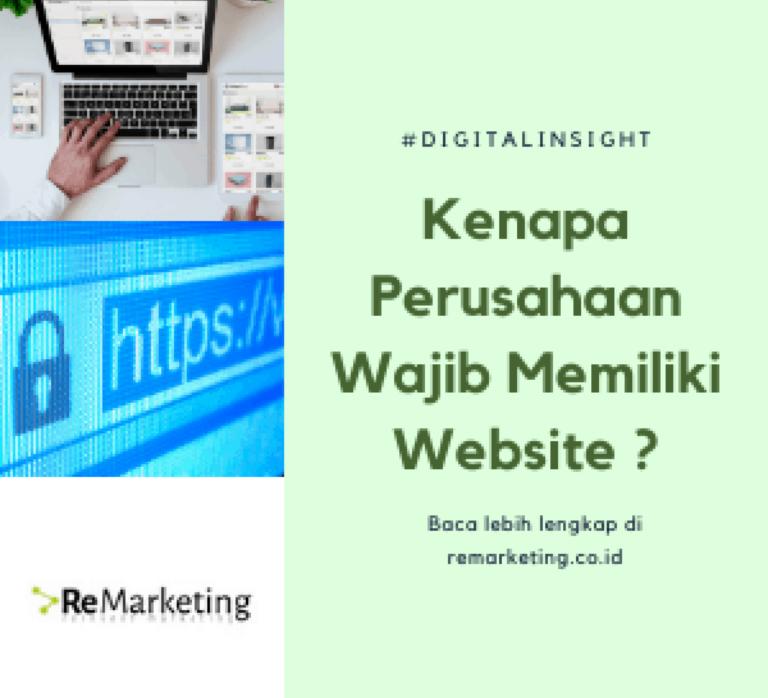 Kenapa Perusahaan Wajib Memiliki Website?