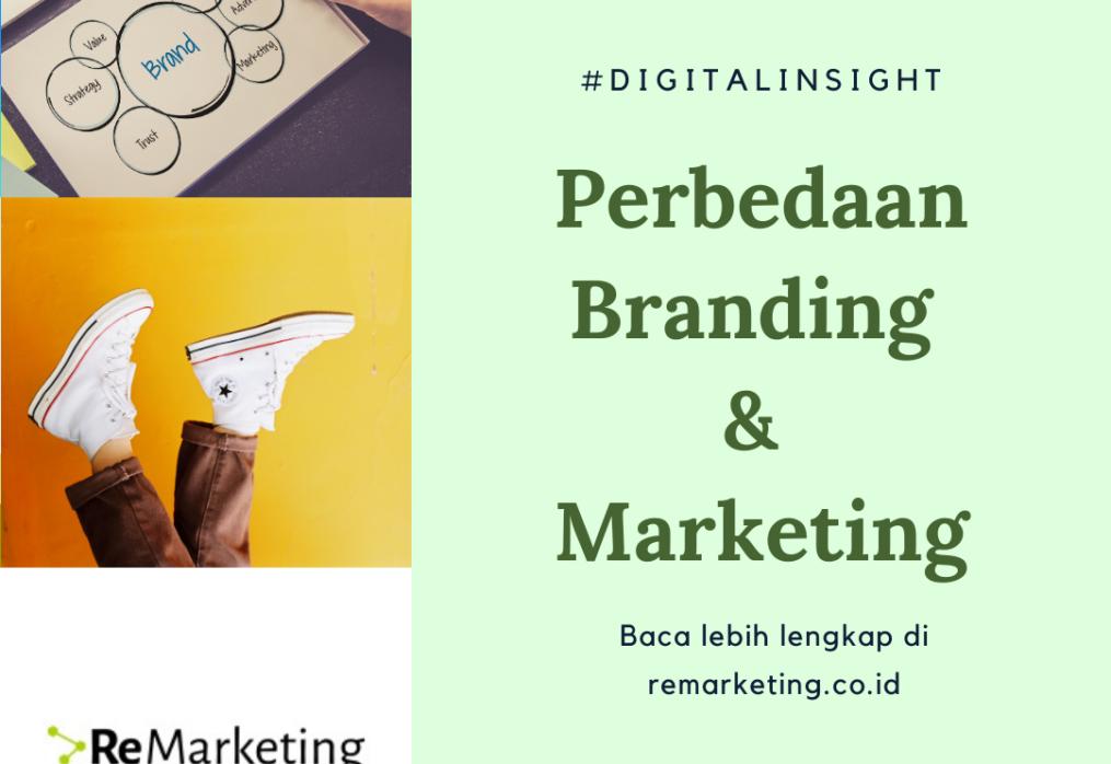 Perbedaan Branding & Marketing