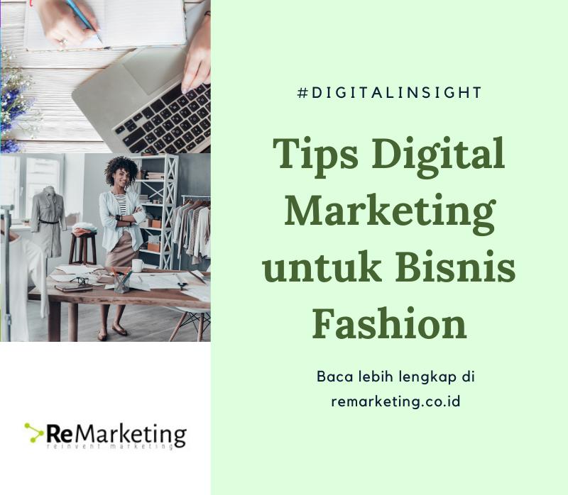 Tips Digital Marketing Untuk Bisnis Fashion