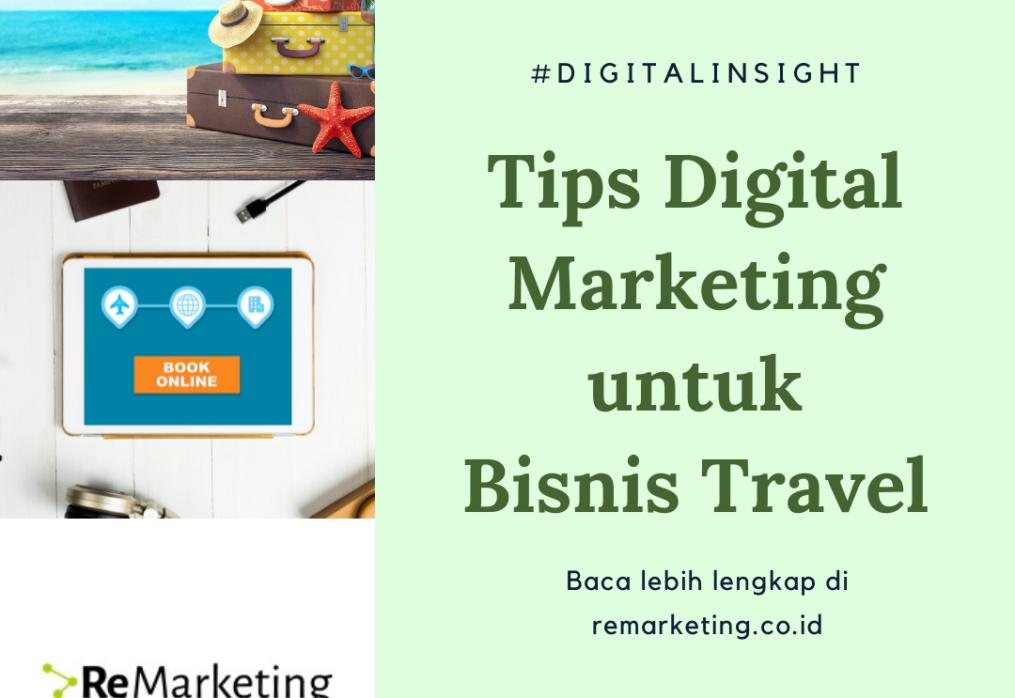 Tips Digital Marketing untuk Bisnis Travel