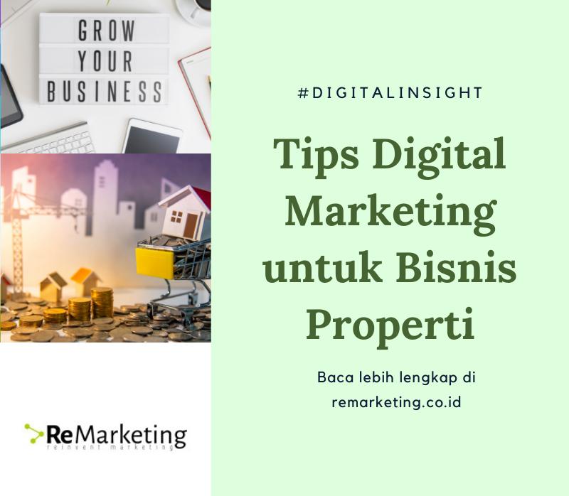Tips Digital Marketing Untuk Bisnis Properti