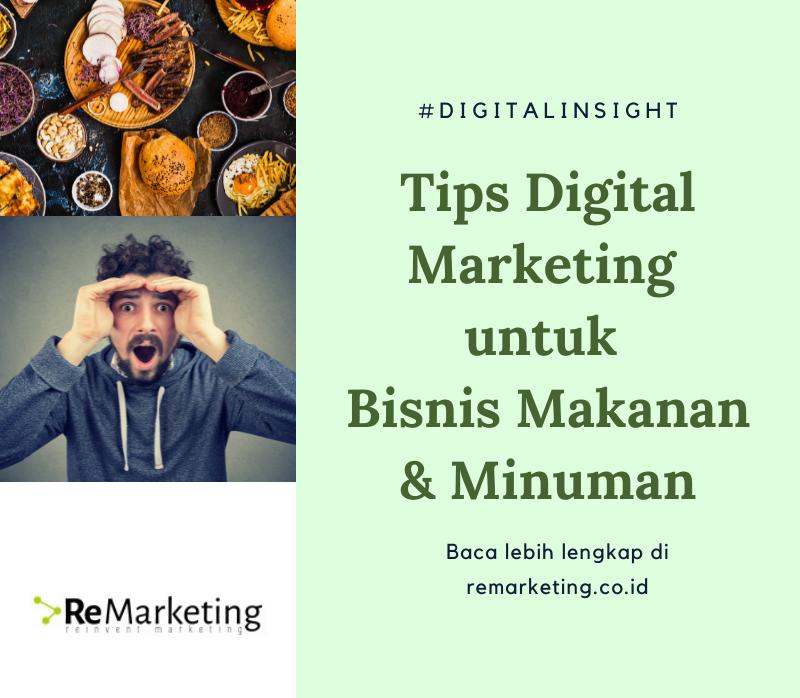 Tips Digital Marketing Untuk Bisnis Makanan & Minuman